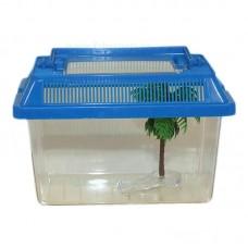 Acvariu plastic pentru animale mici 27x16x16 cm