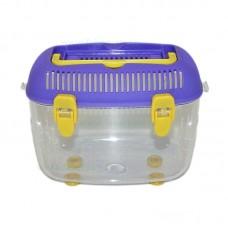 Acvariu plastic pentru animale mici 21x13x15 cm