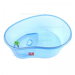 Bazin din plastic pentru testoase 33x25x13 cm