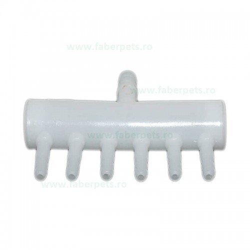 Distribuitor aer din plastic 6 iesiri