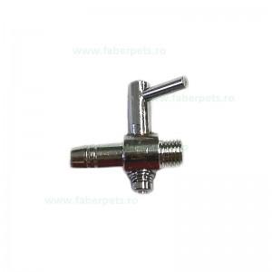 Robinet aer metalic 4 mm cu 1 iesire 10/set