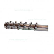 Distribuitor aer metalic 4 mm cu 12 iesiri
