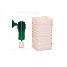 Filtru burete cu furtun pentru acvariu, Panzi patrat 5x5x10 cm