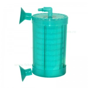 Filtru burete acvariu in carcasa transparenta 7 cm