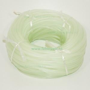 Furtun aer moale 4 mm, alb transparent 100m/rola