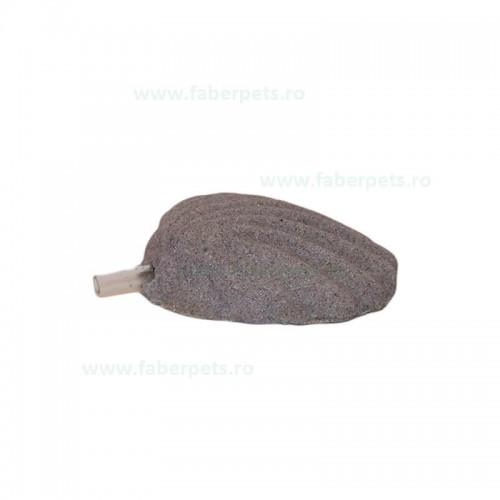 Piatra aer cu forma scoica mica 6 cm