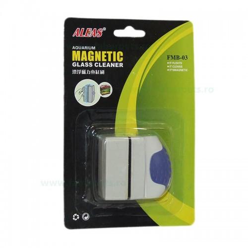 Razuitor magnetic pentru acvariu 5x3x5 cm FMB-03