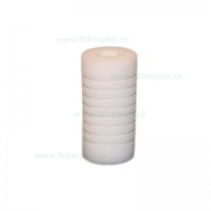 Rezerva de burete pentru acvariu, Panzi rotund 5x10 cm