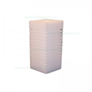 Rezerva de burete pentru acvariu, Panzi patrat 8x8x15/2.2 cm