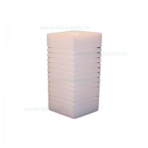 Rezerva de burete pentru acvariu, Panzi patrat 10x10x23/3,4 cm