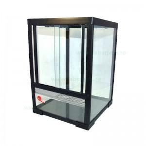 Terariu sticlă pentru animale mici 31x31x46 cm