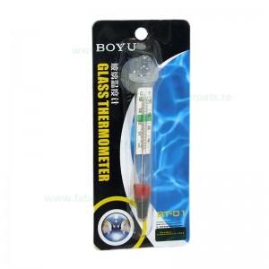 Termometru pentru acvariu din sticla BOYU BT-01