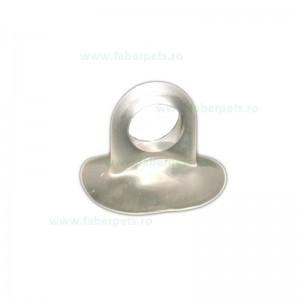 Ventuza transparent cu inel 35 mm 20/set