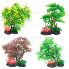 Plante artificiale stufos ambalate cu talpa - 25 cm