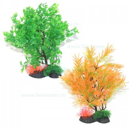 """Plante artificiale stufos ambalate cu talpa 13H""""- 33 cm"""
