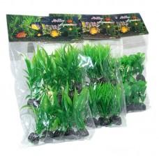"""Plante artificiale 3.54"""" - 9 cm 10/set"""