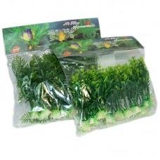 "Plante artificiale 4"" - 10 cm 10/set"