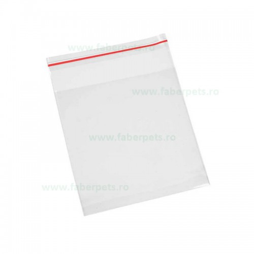 Set pungi cu inchidere fermoar ziplock 200x280 mm 100/set