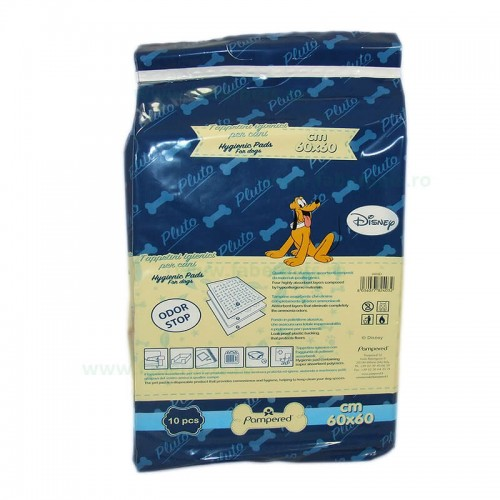 Covoras igienic absorbant pentru caini 60x60 cm 10/set