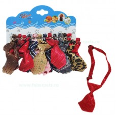 Cravata pentru caini in diverse culori 11 cm 12 /set