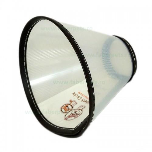 Guler de protectie pentru caini si pisici 16.5 cm Size#5