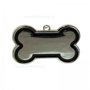Medalion os pentru caini 2x3 cm 12 /set