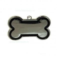 Medalion os pentru caini 3x4 cm 12 /set