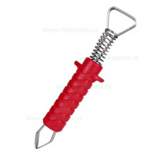 Dispozitiv pentru indepartarea capuselor cu falci metal