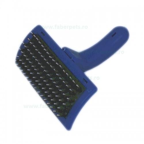 Perie tesala cu dinti plastic 12 cm