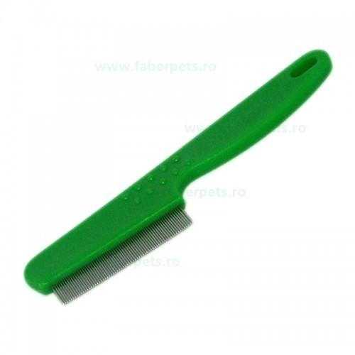 Pieptan purici cu dinte scurt si deasa 14 cm