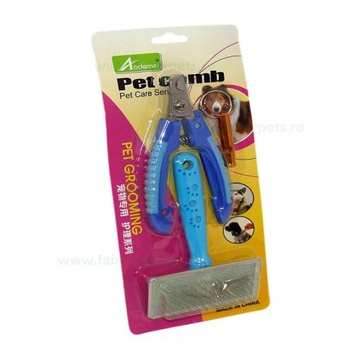 Set accesorii pentru ingrijire caini
