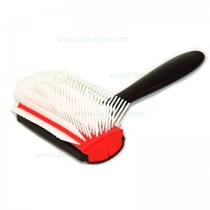 Tesala - perie cu dinti plastic si lungi 10 cm