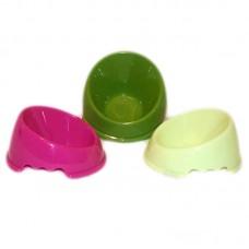 Castron plastic oblic simplu 0.1 l