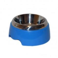 Castron inox si plastic simplu 0.5 l