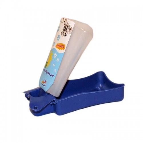 Adapator portabil plastic albastru 0.5 l