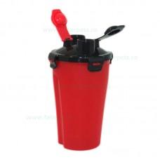 Bidon portabil plastic cu doua compartimente 2*0.6 l