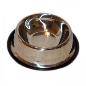Castron inox cu margine cauciuc 1,75 L