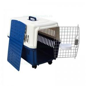 Cusca transport pentru caini si pisici 66x47x46 cm