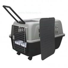 Cusca transport pentru caini si pisici 100x66x72 cm