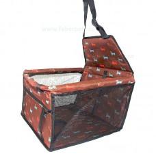Geanta de masina pentru transport animale 42*40*25 cm