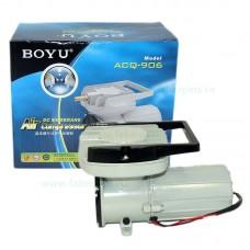 Compresor aer acvariu 12V BOYU ACQ-906 60W 120L/min