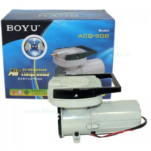Compresor aer acvariu 12V BOYU ACQ-908 105W 150L/min