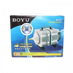 Compresor aer acvariu BOYU ACQ-007 100L/min 75W