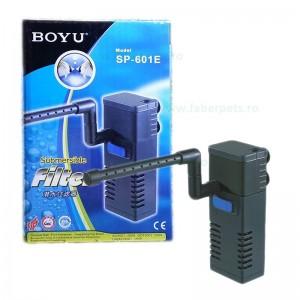 Filtru apa acvariu BOYU SP-601E 200L/h 6W