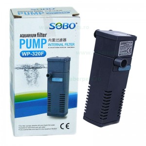 Filtru apa acvariu SOBO WP-320F 500L/h 5W