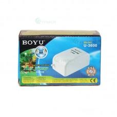 Pompa aer acvariu BOYU U-3600 4L/min 2.5W
