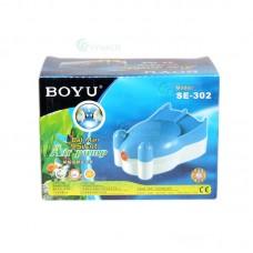 Pompa aer acvariu BOYU SE-302 2.5L/min 2.2W
