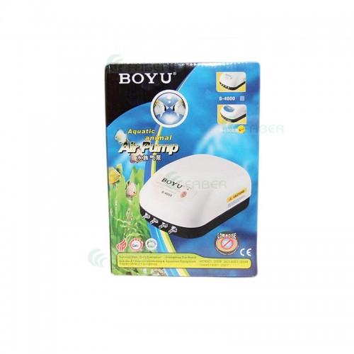Pompa aer acvariu BOYU S-4000B 4*3.2L/min 9W
