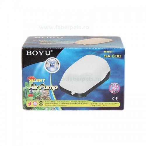Pompa aer acvariu BOYU SA-600 2L/min 1.5W