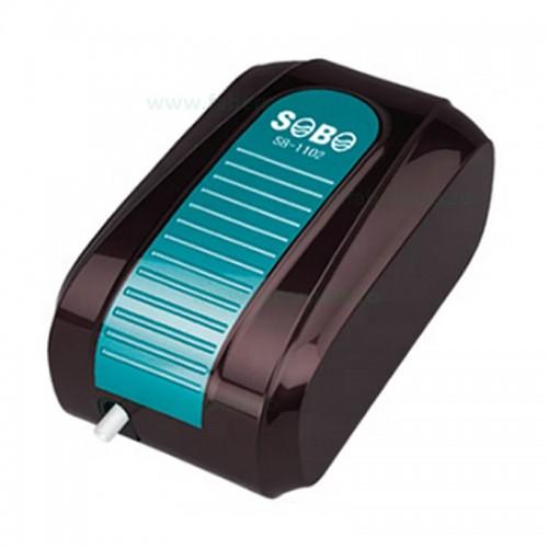 Pompa aer acvariu silentios SOBO SB-1102 4L/min 3.5W